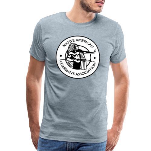 NAGA Logo - Men's Premium T-Shirt