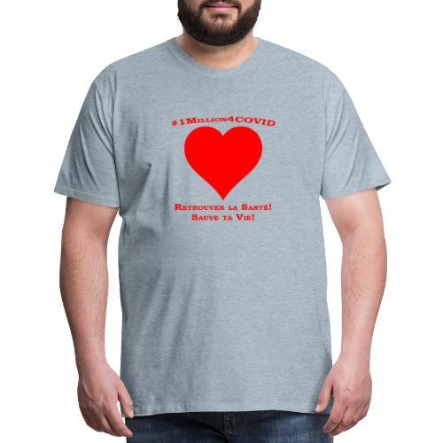 1Million4Covid FR - Men's Premium T-Shirt