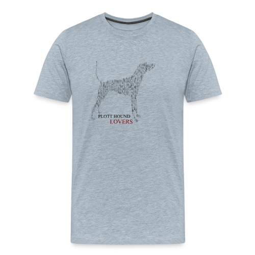 Plott Hound Lovers - Men's Premium T-Shirt