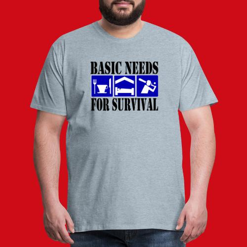 Softball/Baseball Basic Needs - Men's Premium T-Shirt