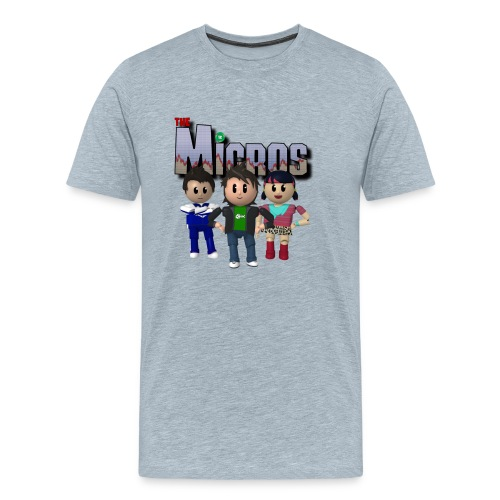 Logo with Characters - Men's Premium T-Shirt