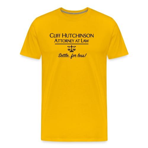 Cliff Hutchinson Attorney At Law - Men's Premium T-Shirt