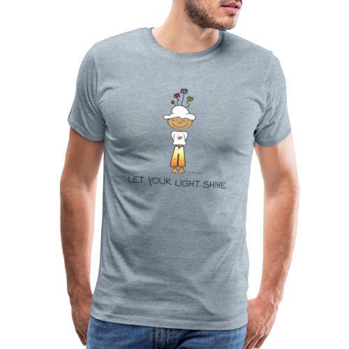 Let your light shine - Men's Premium T-Shirt