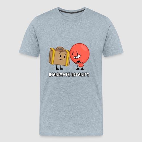 Suitcase Balloon Duo - Men's Premium T-Shirt