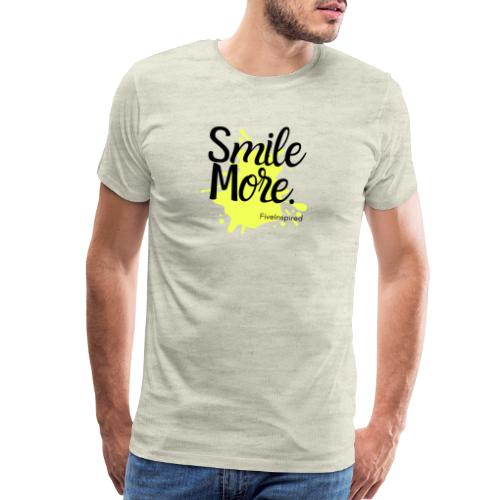 Smile More - Men's Premium T-Shirt