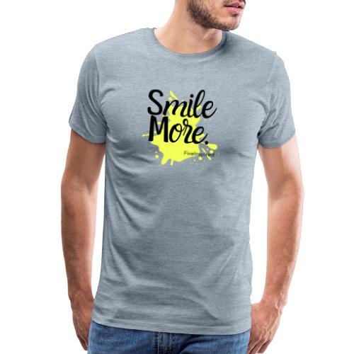Smile More - Men's Premium T-Shirt