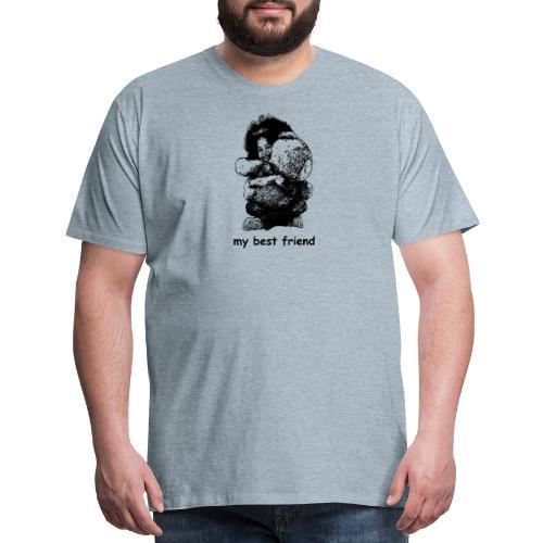 My best friend (girl) - Men's Premium T-Shirt