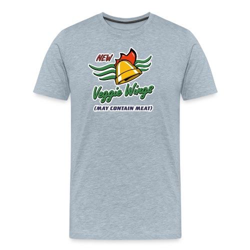 Cluckin' Bell Veggie Wings - Men's Premium T-Shirt
