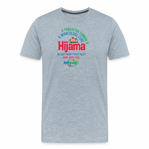 Hijama/Cupping/ Cupping therapy/ BD Health - Men's Premium T-Shirt