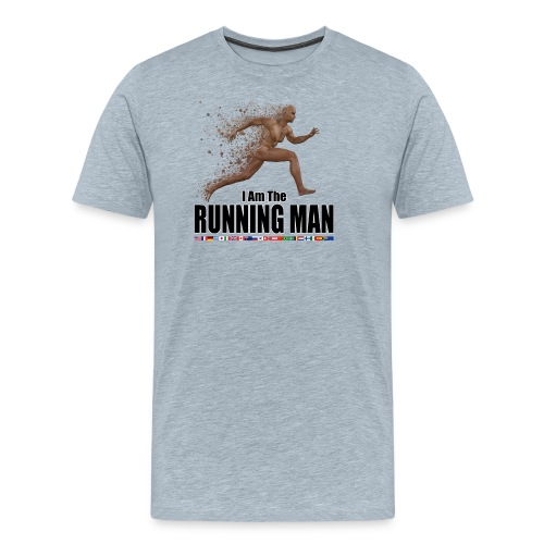 I am the Running Man - Cool Sportswear - T-shirt premium pour hommes
