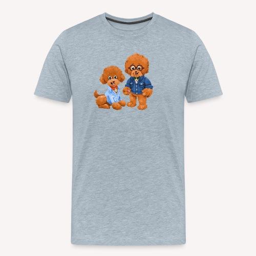 Agador and Fred - Men's Premium T-Shirt
