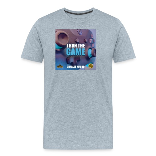 I Run The Game Charles Macro - Album Cover 4 - Men's Premium T-Shirt