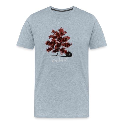 Red Tree design3PNG - Men's Premium T-Shirt