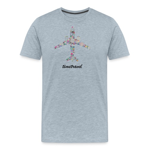 Time To Travel - Men's Premium T-Shirt