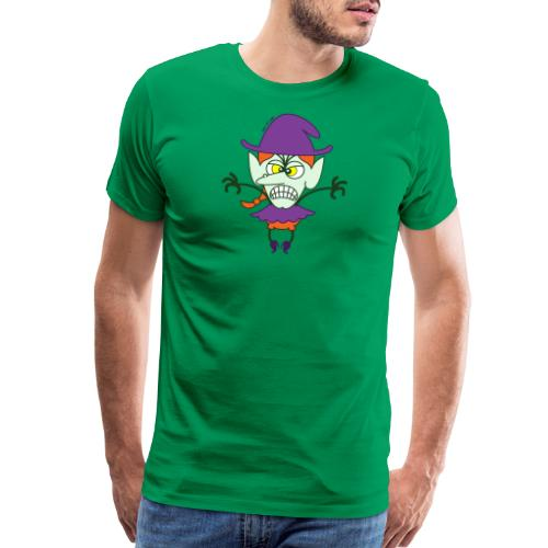 Scary Halloween Witch - Men's Premium T-Shirt