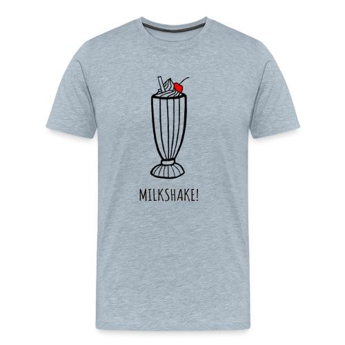 milkshake png - Men's Premium T-Shirt