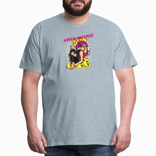 saskhoodz girl - Men's Premium T-Shirt