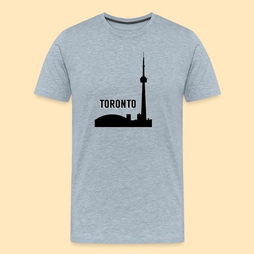 Toronto Skyline - Men's Premium T-Shirt