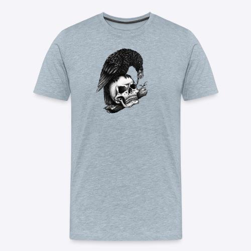 Skull Crow - Men's Premium T-Shirt