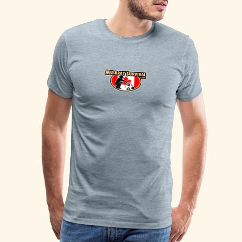 Muskrat Badge 2020 - Men's Premium T-Shirt