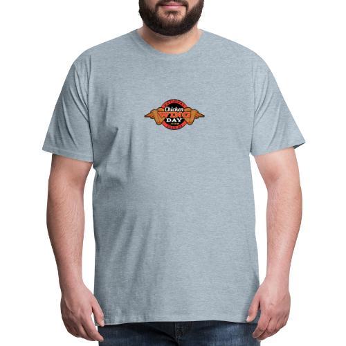 Chicken Wing Day - Men's Premium T-Shirt