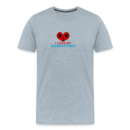 HeartDowntown - Men's Premium T-Shirt