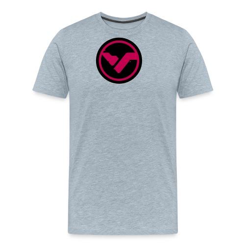 Circle Logo Pink - Men's Premium T-Shirt