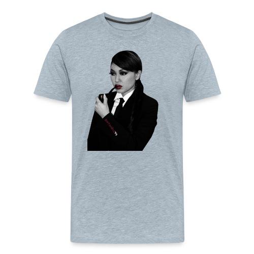 Natasha Yi's Smoking Pipe Cutout - Men's Premium T-Shirt
