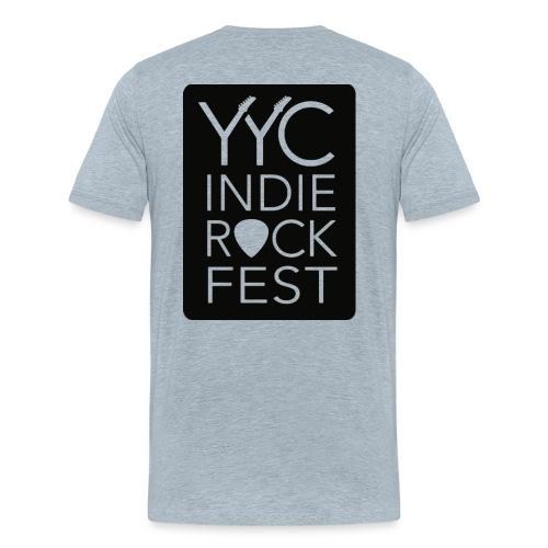 YYCIRFlogoseethrough Alph - Men's Premium T-Shirt