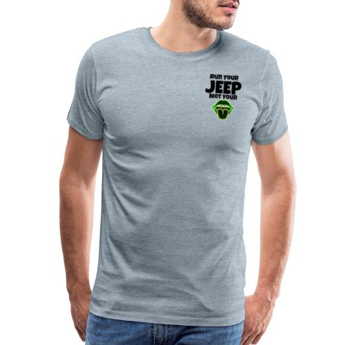 Run Lime - Men's Premium T-Shirt