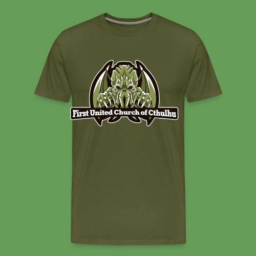 First United Church of Cthulhu - Men's Premium T-Shirt