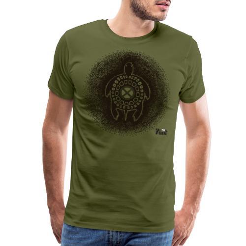 Turtle Teaching - Men's Premium T-Shirt