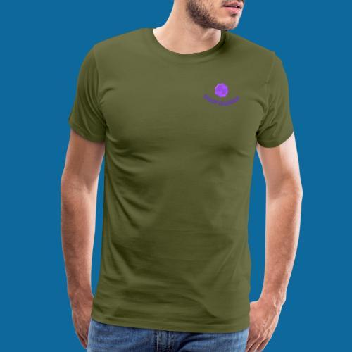 SR logo curved - Men's Premium T-Shirt