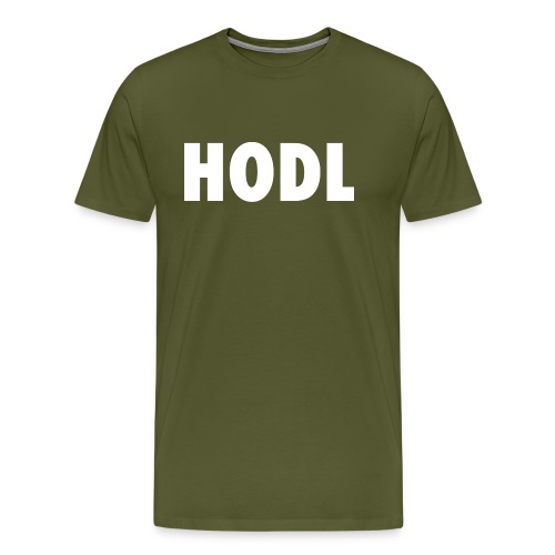 HODL - Men's Premium T-Shirt