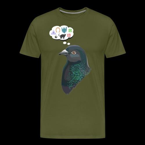 Skinner's Pigeon - Men's Premium T-Shirt