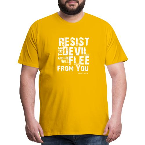 Resist the Devil - Men's Premium T-Shirt