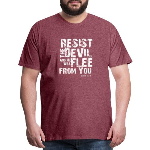 Resist the Devil - Men's Premium T-Shirt