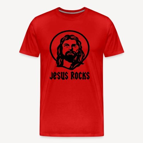 JESUS ROCKS - Men's Premium T-Shirt