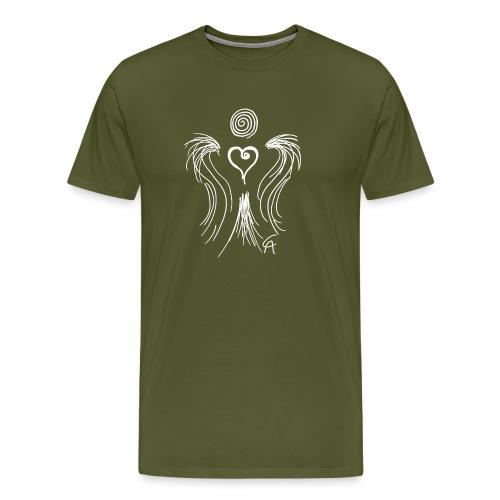 Heartangel white - Men's Premium T-Shirt