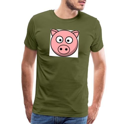 Piggy Mask - Men's Premium T-Shirt
