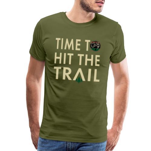 Time To Hit The Trail T-Shirt - Men's Premium T-Shirt