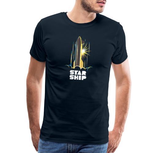 Star Ship Earth - Dark - Men's Premium T-Shirt