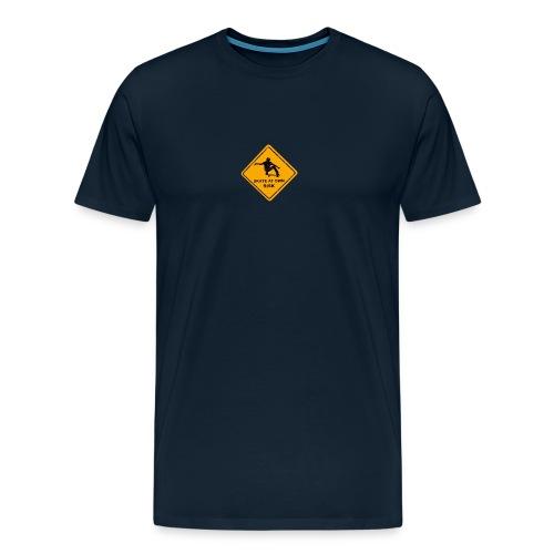 skate at own risk - Men's Premium T-Shirt