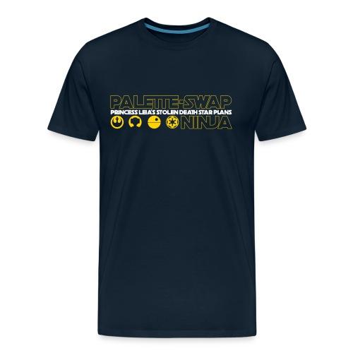 Princess Leia's Stolen Death Star Plans - Men's Premium T-Shirt