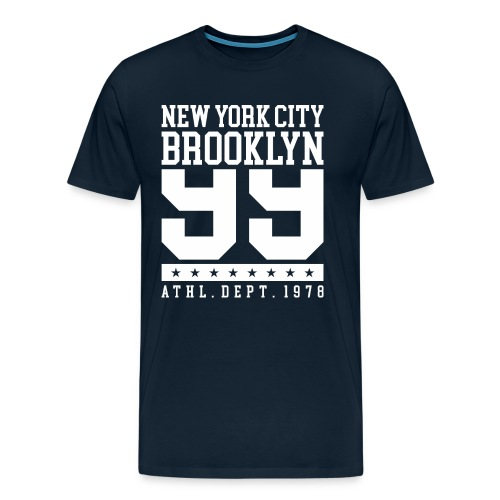 new york city brooklyn - Men's Premium T-Shirt