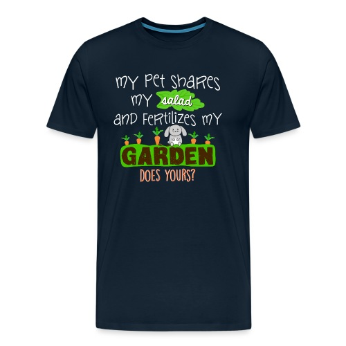 Bunny Benefits - Men's Premium T-Shirt