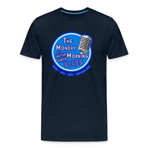 Official Branding of The Monday Morning Blues! - Men's Premium T-Shirt