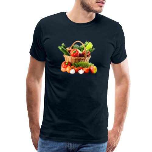 Vegetable transparent - Men's Premium T-Shirt