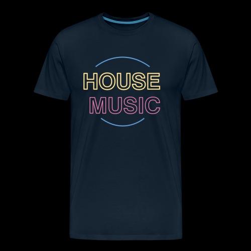 House Music - Men's Premium T-Shirt