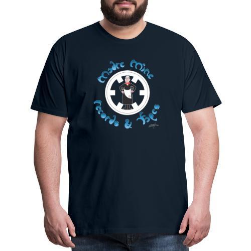 PC34 madre mine records tapes la señora arcos off - Men's Premium T-Shirt